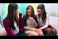 素人レズ♥ナンパ!友達同士でノリノリ野球拳!負けたら…♥Vol.02