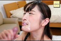 【ぶっかけ射精】②ドロっとしたザーメンを美女の美顔にぶっかけるぅぅ!! 顔面発射